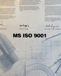 1995 - Registered with MS ISO 9001